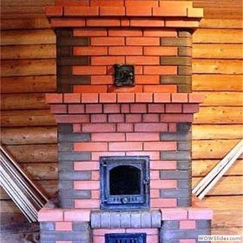 Печка для дома из кирпича своими руками чертежи